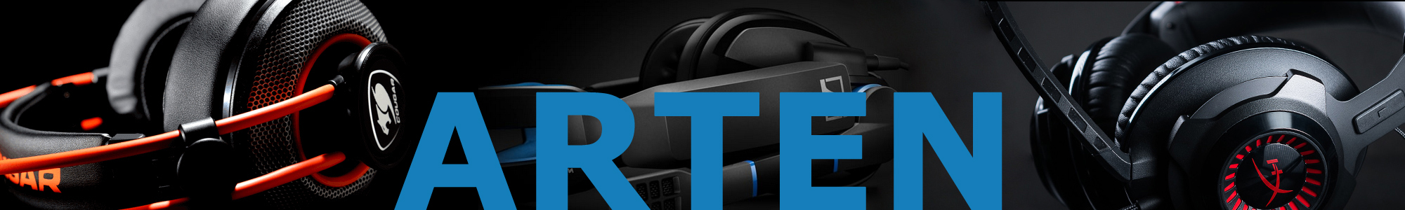 Gaming Headset Test - Banner Arten