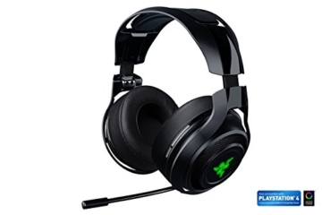 Razer Mano'war Gaming Headset (Over-Ear Kabelloser 7.1 Surround Sound, RGB Beleuchtet für PC, MAC und PS4) -